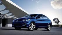 8 - Hyundai Accent Blue