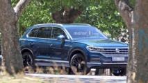 Volkswagen Touareg, le prime foto senza camuffature