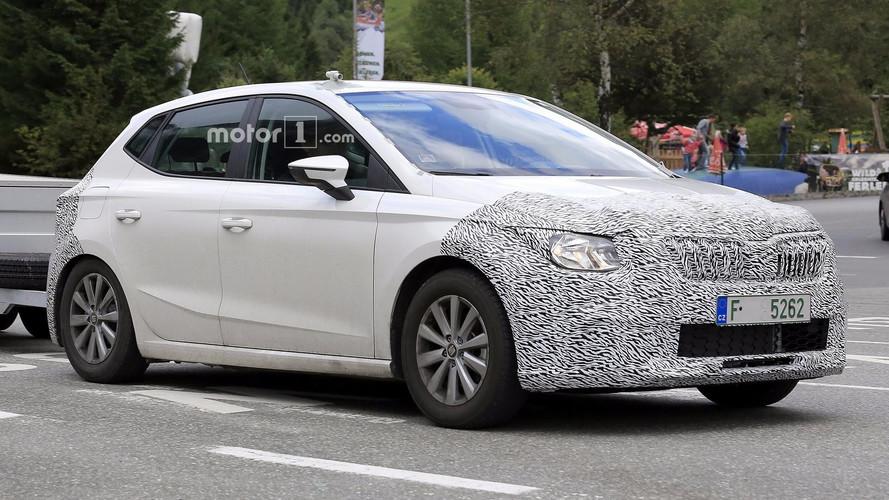 Photos espion - Une future petite Škoda se prépare
