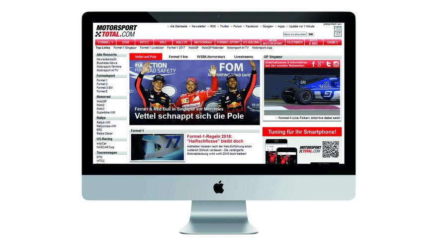Motorsport Network Alman spor medyası grubunu alarak genişledi