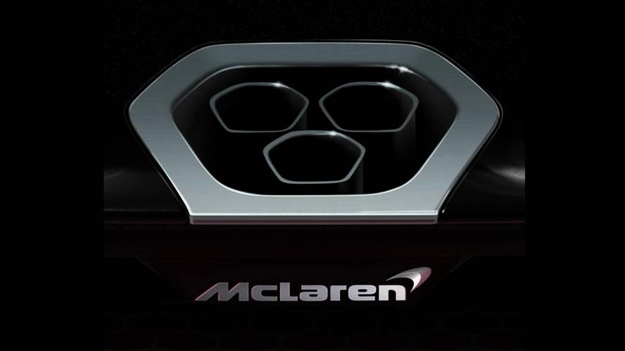 McLaren P15 teasers