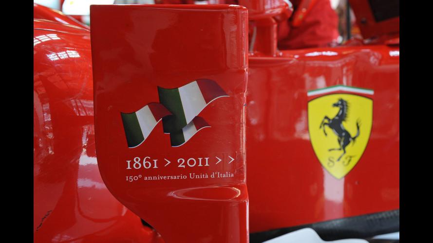 Anche Ferrari celebra l'Unità d'Italia
