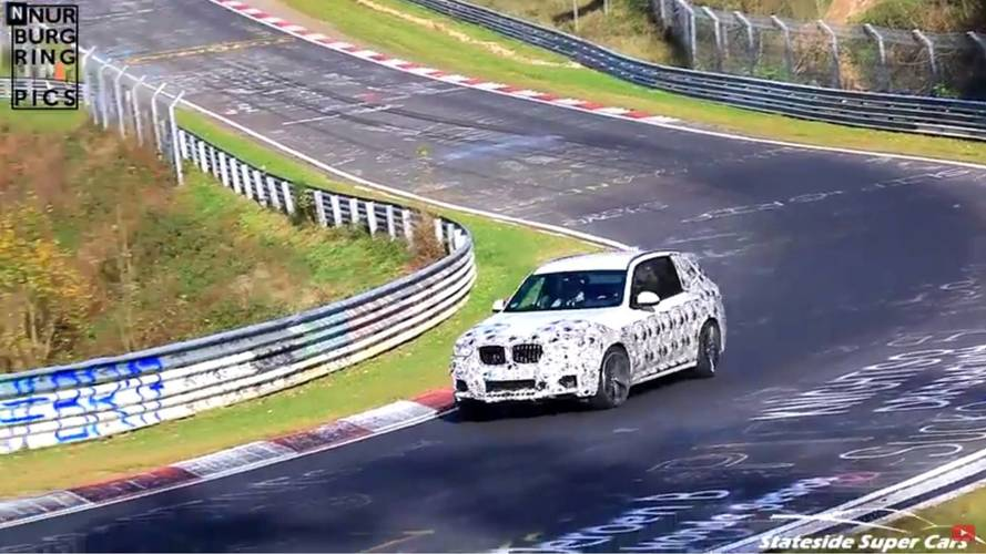 2019 BMW X3 M casus videosu ekran görüntüleri