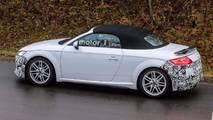 2019 Audi TT Roadster Spy Photo