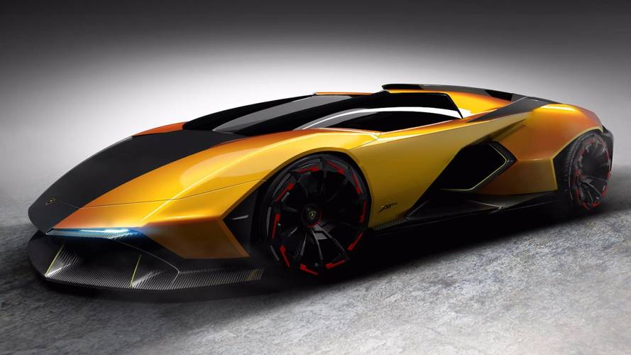 Lamborghini Apis Blurs The Lines Between Rendering And Reality