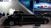 Chang'an stretched Raeton limousine uncovered before Auto Shanghai debut