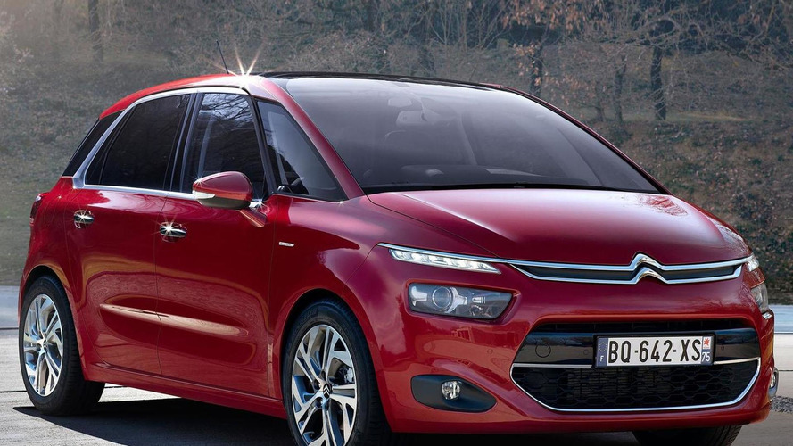 2014 Citroen C4 Picasso leaks to the web