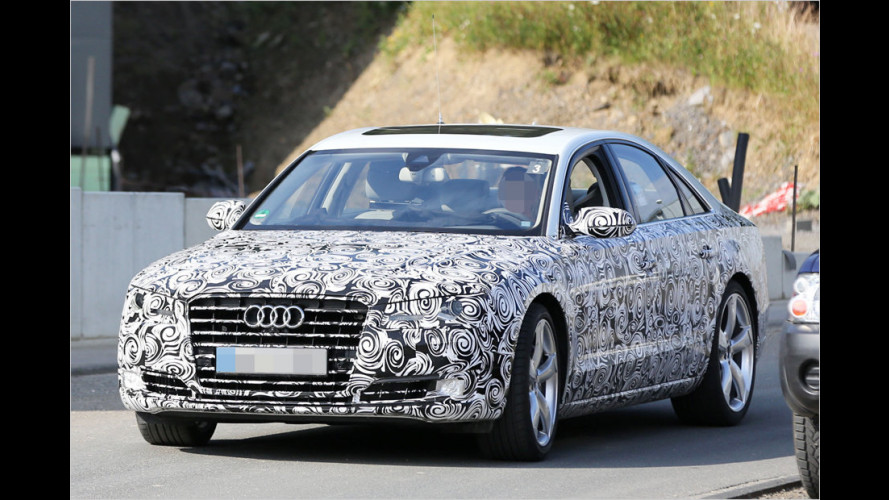 Audis neue Oberklasse kommt noch 2013