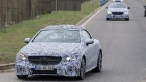 Mercedes E-Class Convertible spy photo
