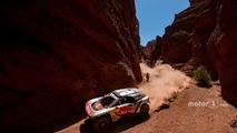 Carlos Sainz at 2017 Dakar Rally