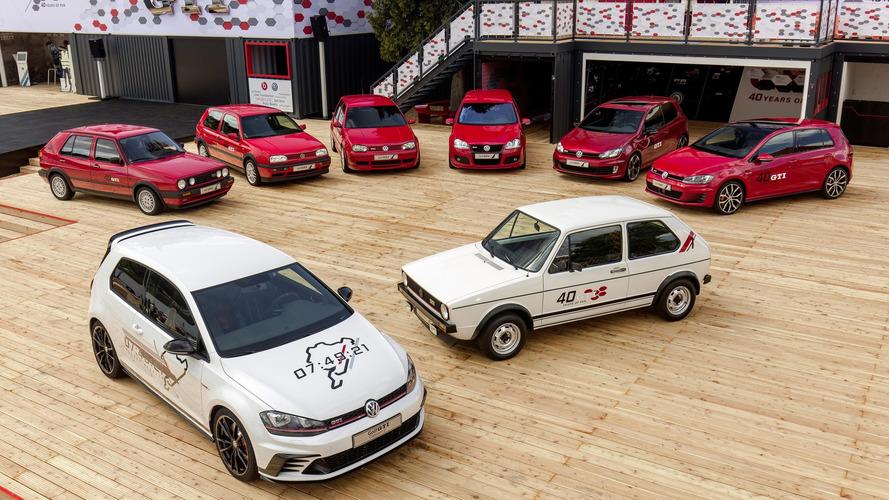VW Golf GTI comemora 40 anos com recordes e edições especiais