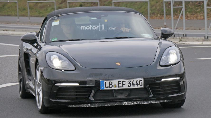 Porsche 718 Boxster GTS 2017 - Photos espion