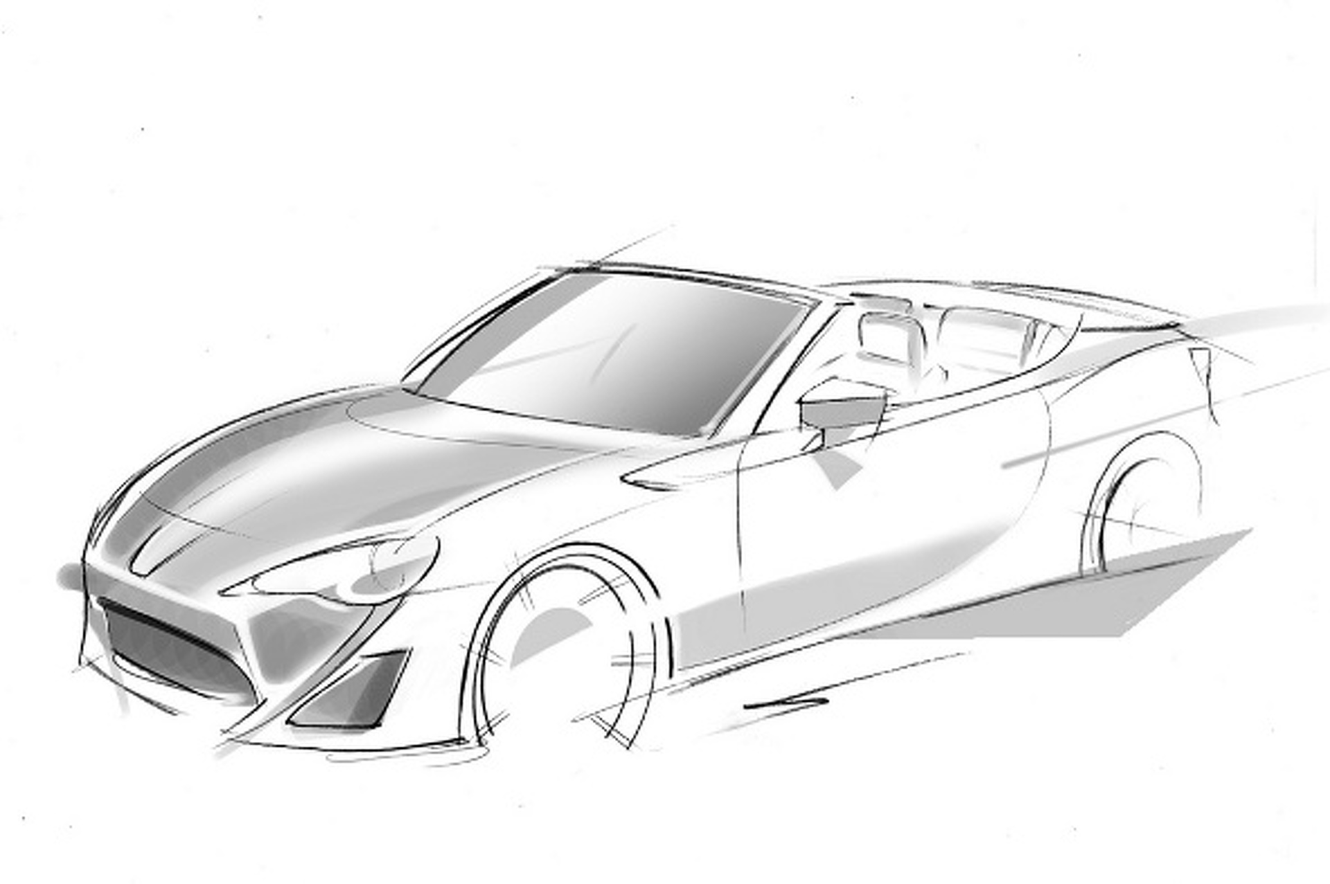 Scion FR-S Convertible Concept Debut Set for Geneva