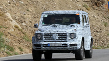 Next-gen Mercedes-Benz G-Class spy photos