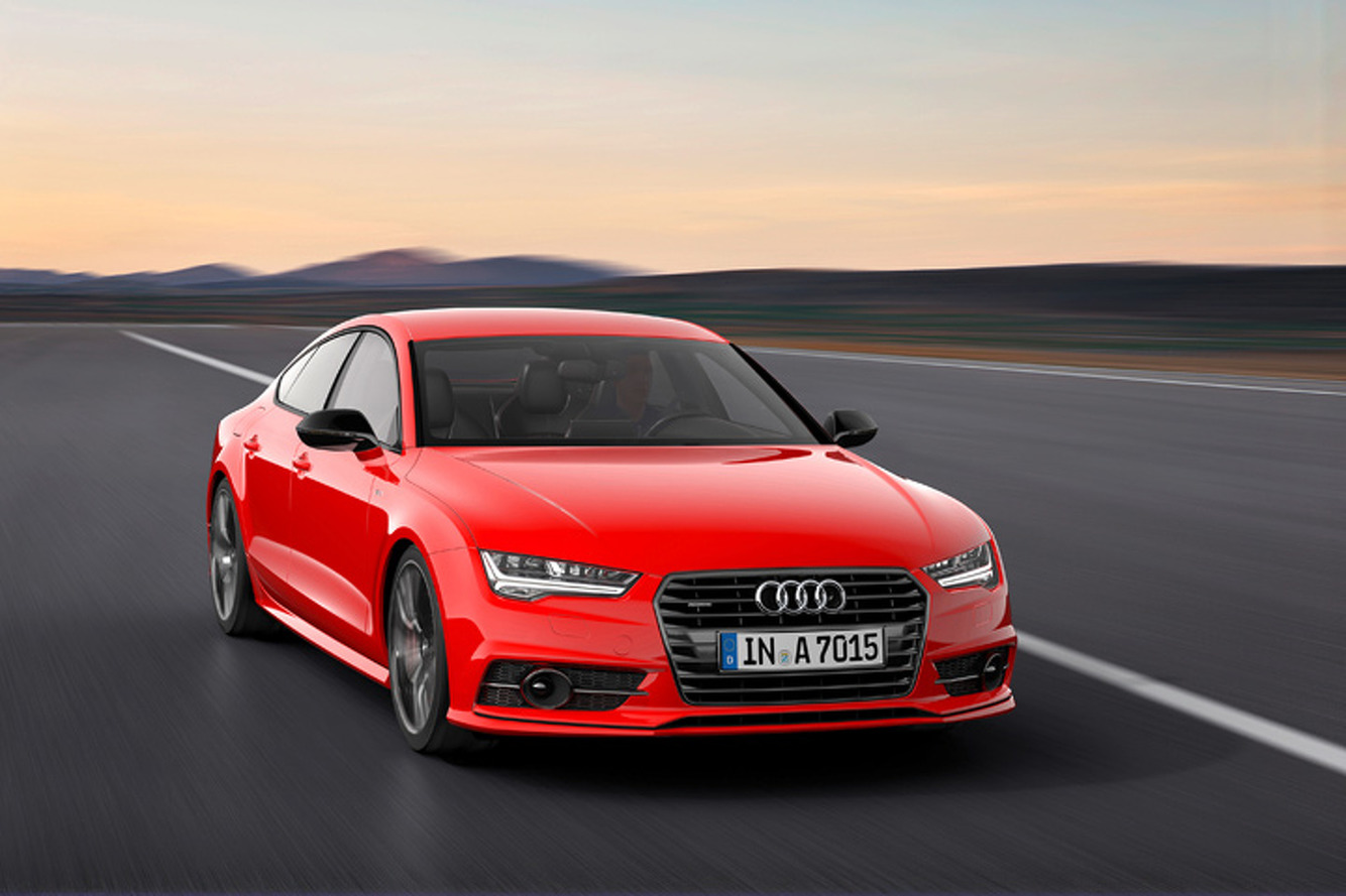 The Audi A7 'Competition' is a Biturbo Diesel Tree-Whisperer