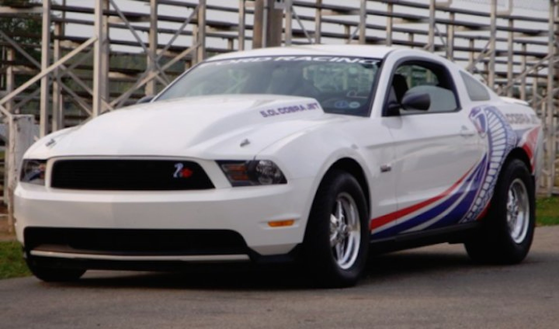 Cylinder Mustang Race Car For Sale