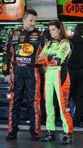 Tony Stewart, Stewart-Haas Chevrolet, Danica Patrick, Stewart-Haas Racing Chevrolet