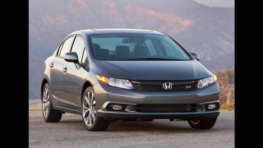 CANADÁ, novembro: Honda Civic assume liderança geral