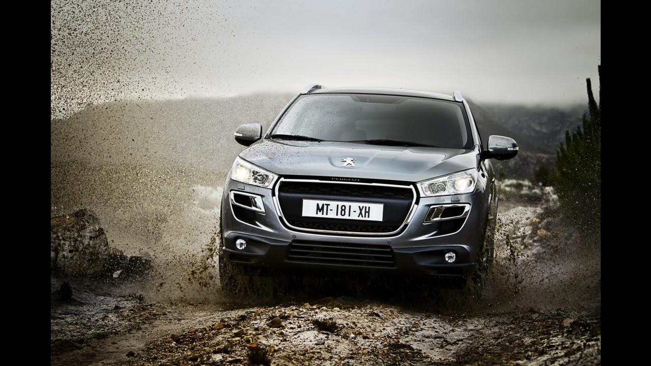 Galeria de fotos: Novo Peugeot 4008 em detalhes