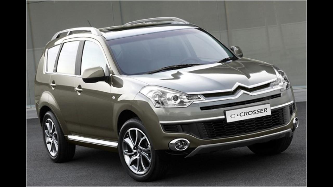 Citroën C-Crosser mit neuem Benzinmotor
