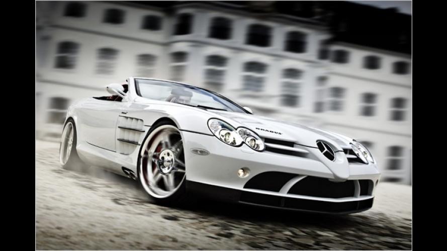Muskelprotz mit Frischluft-Bonus: SLR Roadster von Brabus