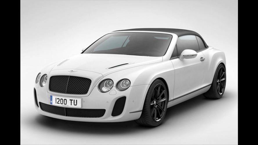 Rekord-Bentley: Eisiges Cabrio-Sondermodell
