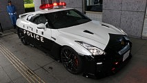 Nissan GT-R Police Car In Japan