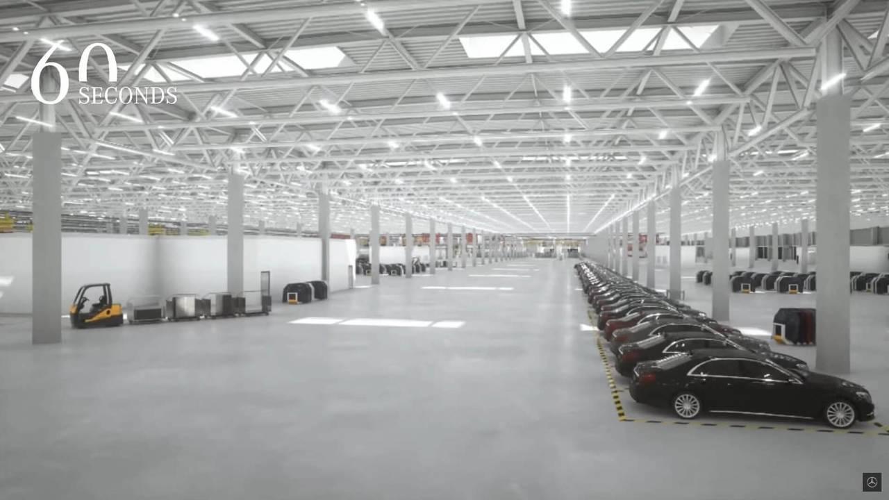 Mercedes benz factory 56 construction photos for Mercedes benz factory in alabama
