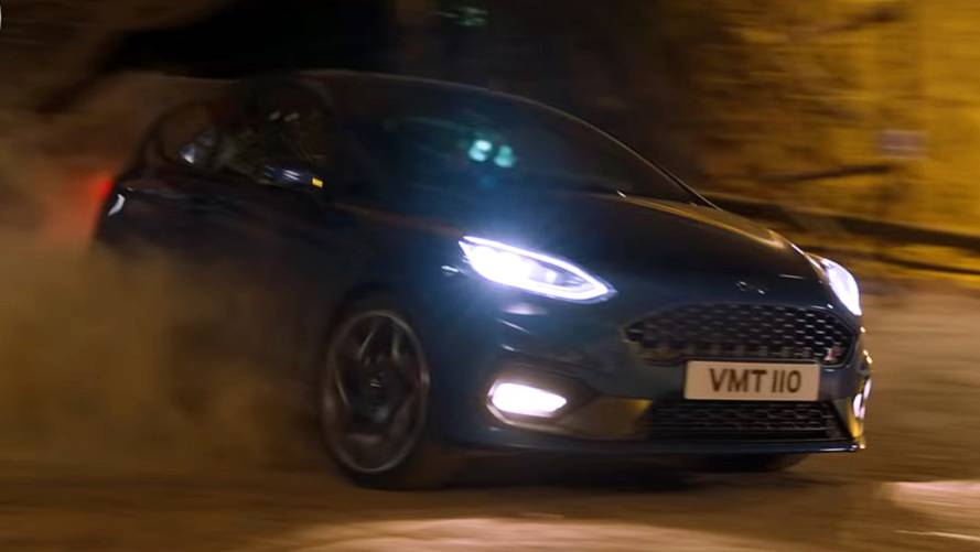 Watch Ford Take New Fiesta ST Underground
