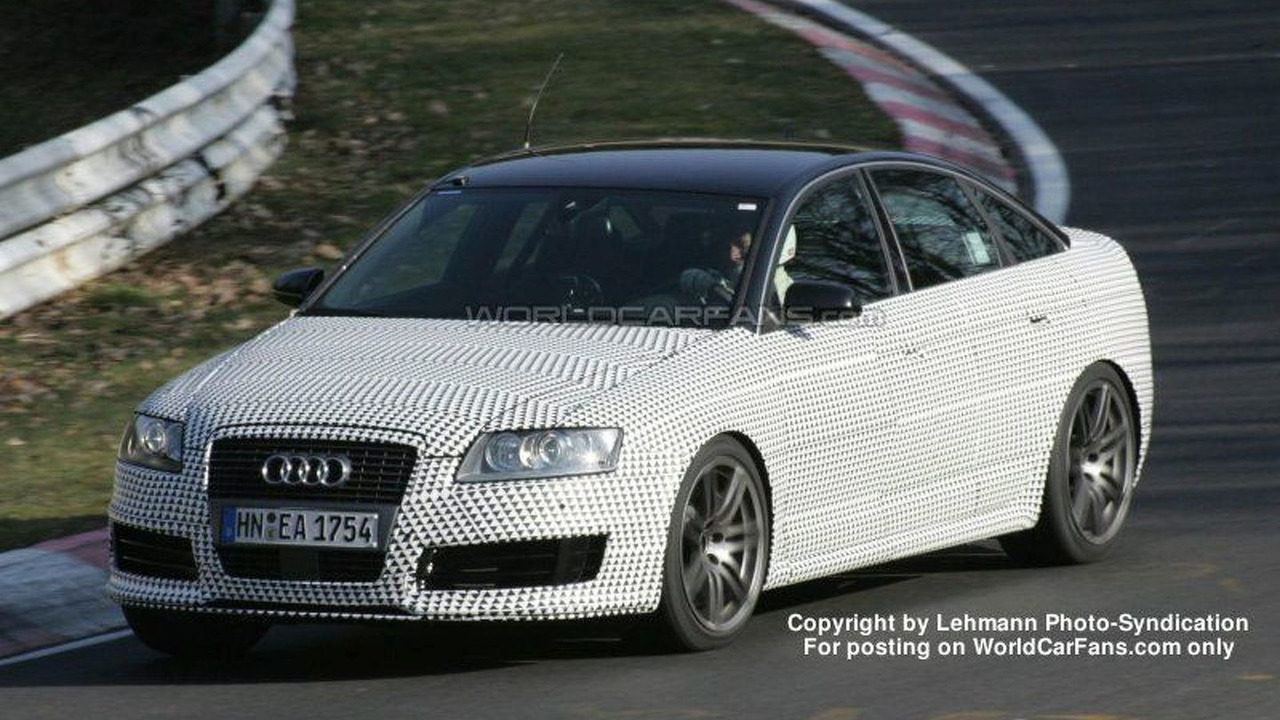 SPY PHOTOS: Audi RS6
