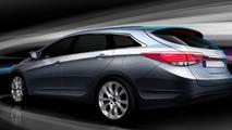 Hyundai i40 teaser images, 1600, 20.12.2010