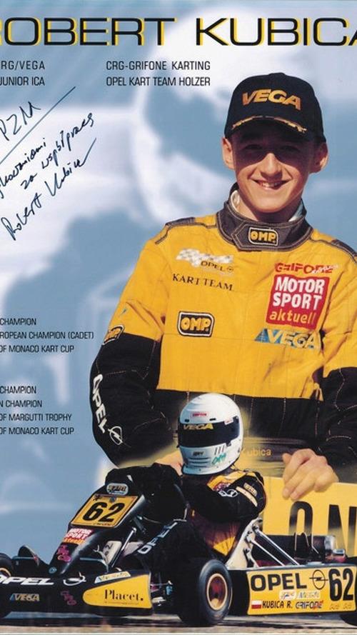 Kubica starts own kart team
