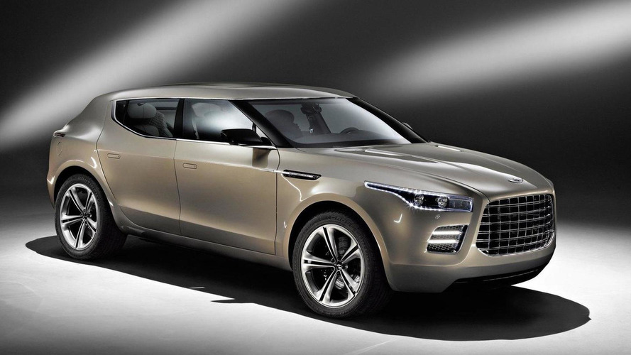 Aston Martin / Lagonda crossover still in development - report