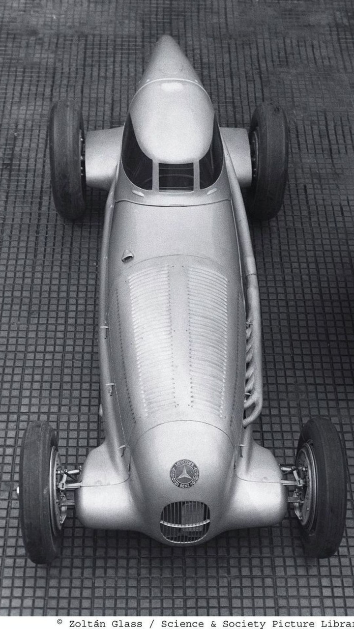 Record-breaking version of the Mercedes-Benz W 25 racing car