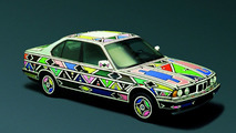 Esther Mahlangu (ZA) 1991 BMW 525i art car - 1600