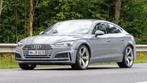 Audi RS5 Sportback casus fotoğraflar
