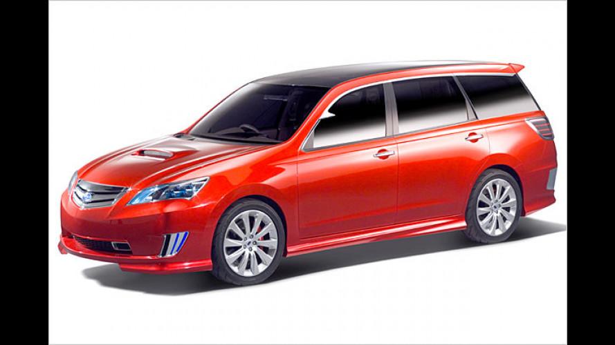 Exiga, G4e und STi: Subaru auf der Tokyo Motor Show