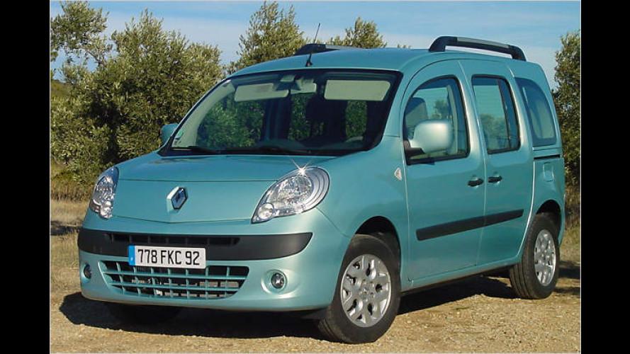 Des Nashorns neuer Liebling: Renault Kangoo II im Test