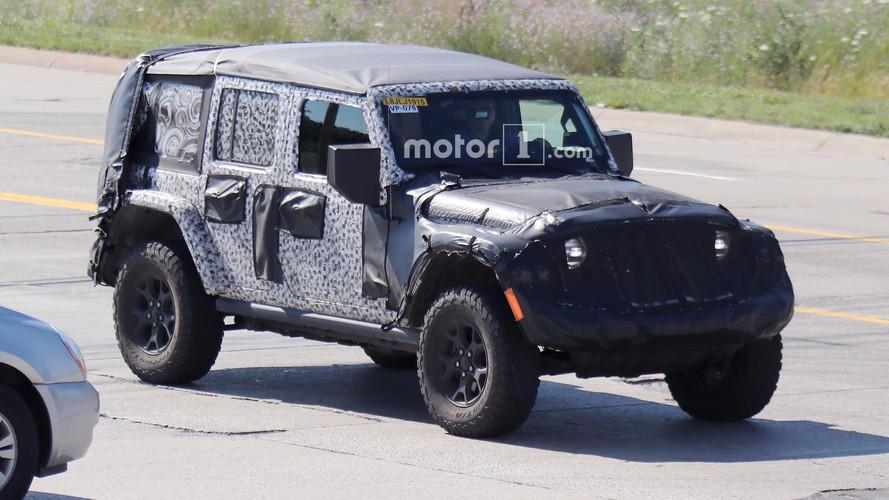 2018 Jeep Wrangler stoplarını yanlışlıkla gösterdi