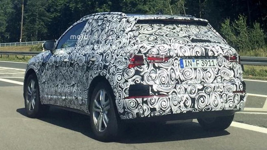 New Audi Q3 Spotted Hiding Evolutionary Design