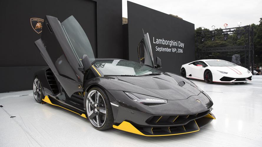 Lamborghini fête 30 ans d'utilisation de la fibre de carbone