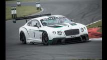 Bentley Continental GT3, l'inglese da corsa con 600 CV