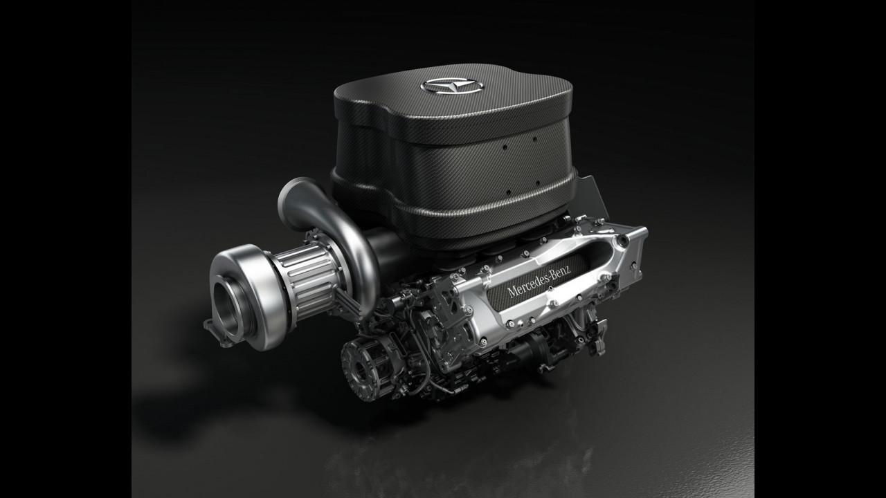 Motore Mercedes-Benz V6 F1 2014