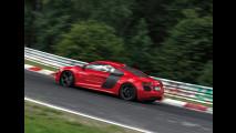 Audi R8 e-tron: record al Nurburgring con 8:09.099