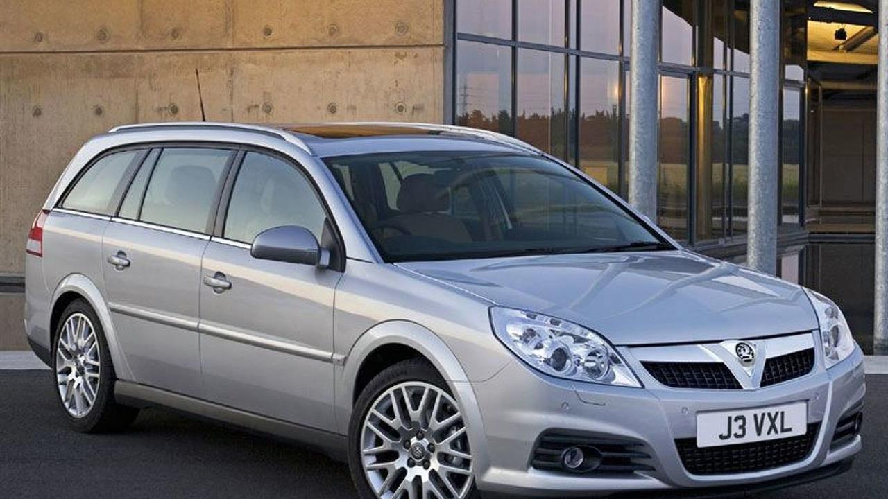 New Opel Vectra - UK
