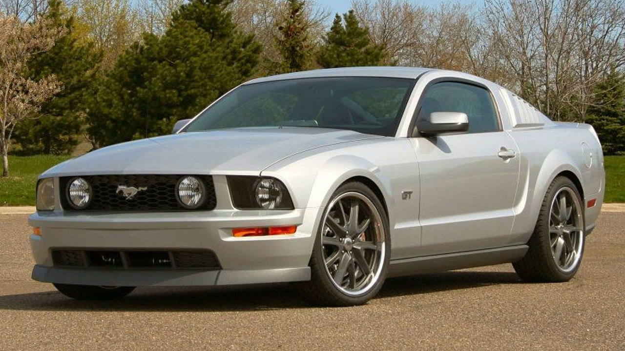 Ford Mustang GT with Antonov two speed supercharger